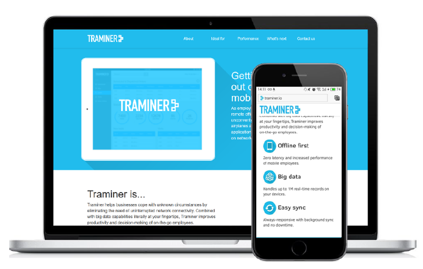 Traminer Platform - Developing Big Data Software screen
