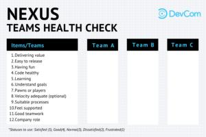 DevCom Nexus Team Health Check