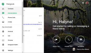 Hangouts for remote development teams