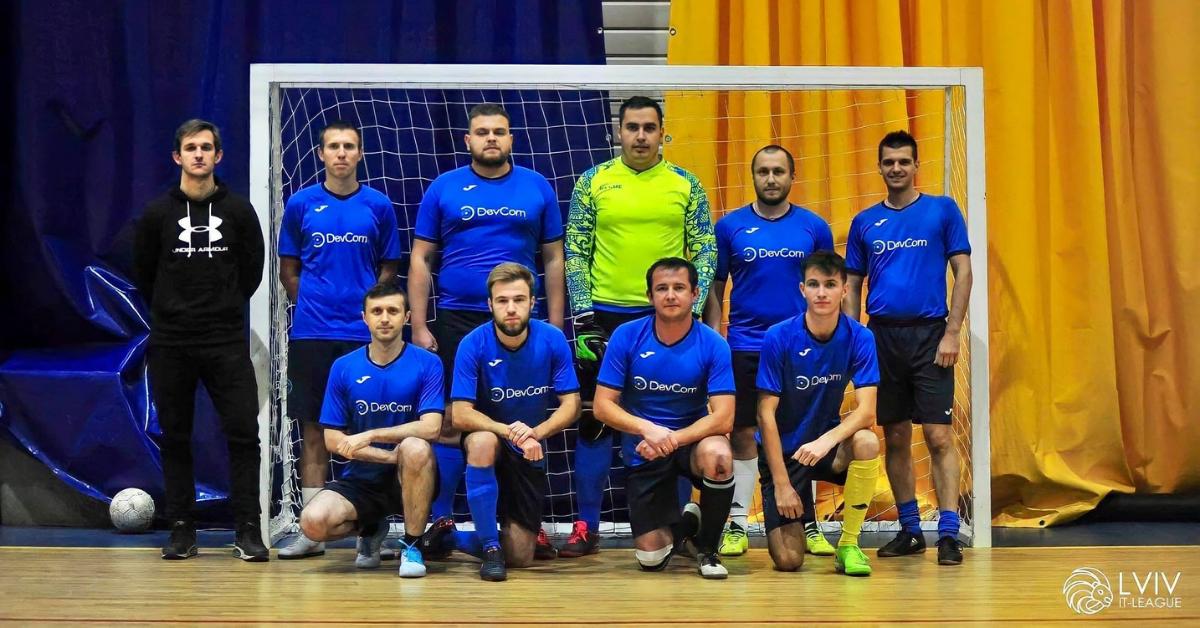 Devcom Football Team Shows Excellent Performance