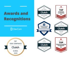 DevCom Awards in 2020